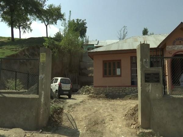 Construction work at Sheikpora Panchayat Ghar (Photo/ANI)