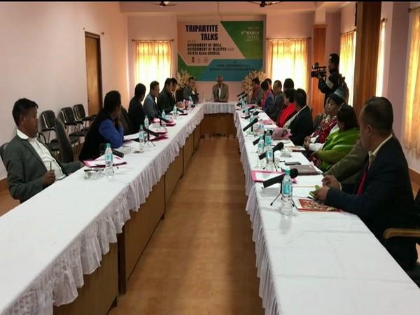 11thTripartite talk held in Manipur