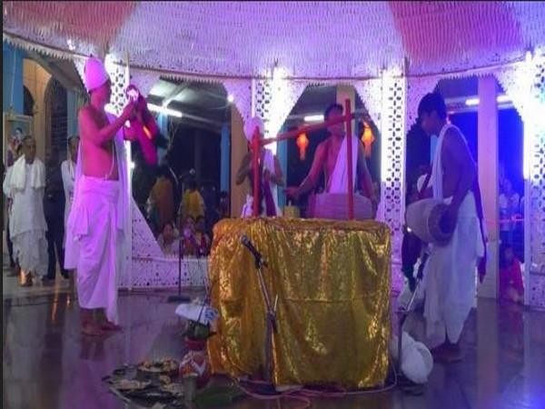 Tripura celebrates Lord Krishna's 'Rass Lila'. Photo/ANI