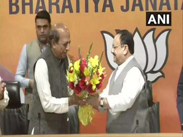 Dinesh Trivedi joined BJP in the presence of party's national president JP Nadda on Saturday.