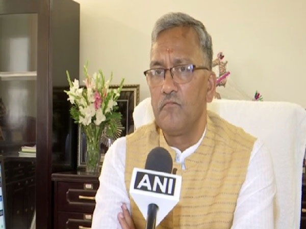 Uttarkhand Chief Minister Trivendra Singh Rawat speaking to ANI in Dehradun on June 28. Photo/ANI