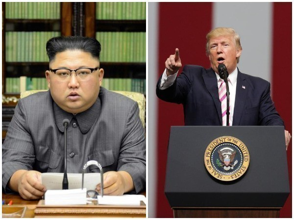File photo of North Korean leader Kim Jong-un and United States President Donald Trump