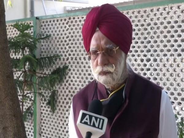 Congress leader KTS Tulsi speaking to ANI in New Delhi on Thursday. (Photo/ANI)