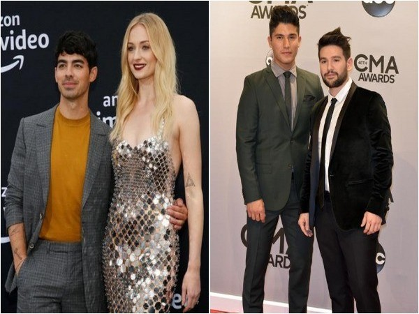 Joe Jonas, Sophie Turner, Dan Smyers and Shay Mooney