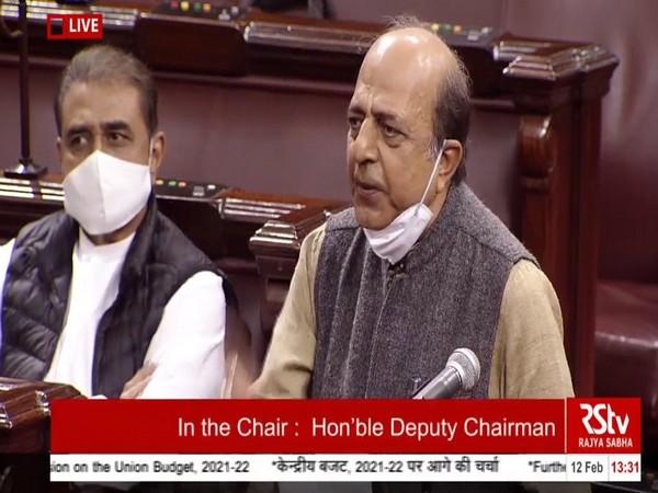 TMC's Dinesh Trivedi speaking at Rajya Sabha today.