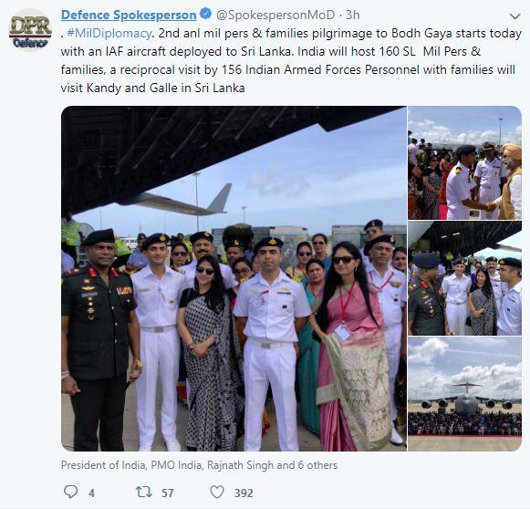 160 Sri Lankan military personnel, kin to visit Bodh Gaya