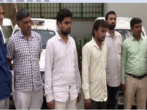 Two accused in nine year old murder case held. (Photo/ANI)