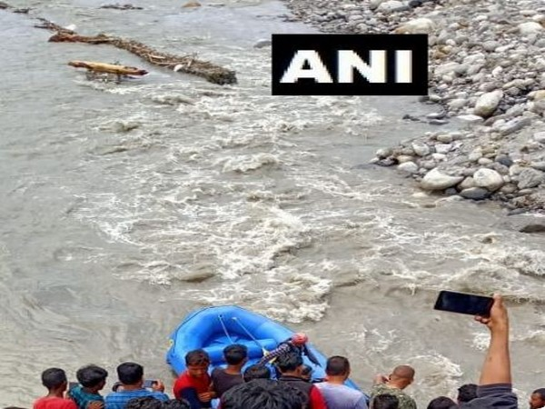 Visuals from the rescue operation site