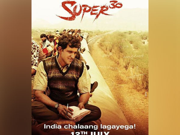 'Super 30' poster, Image courtesy: Instagram