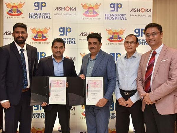 Term sheet signing ceremony for Grand Port Hospital Construction, Mumbai