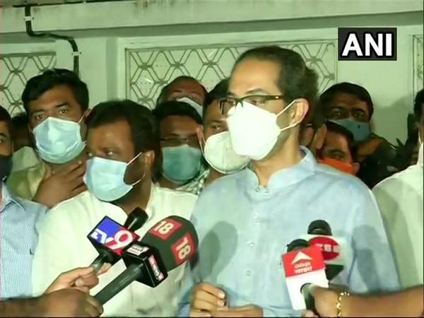 Maharashtra Chief Minister Uddhav Thackeray (Twitter/ANI)