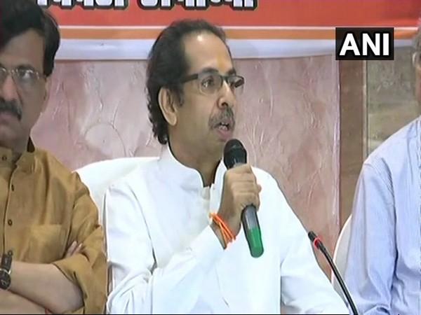 Shiv Sena chief Uddhav Thackeray. File photo/ANI