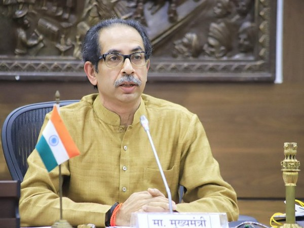Maharashtra Chief Minister Uddhav Thackeray (File Photo/ANI)