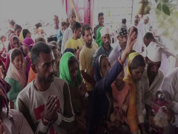 Every year, people of all faiths set their journey to the Sankri Devta Temple [Photo/ANI]