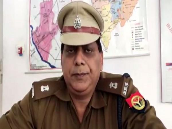 Alok Jaiswal, Assistant Superintendent of Police, Sambhal speaks to ANI on Saturday [Photo/ANI]