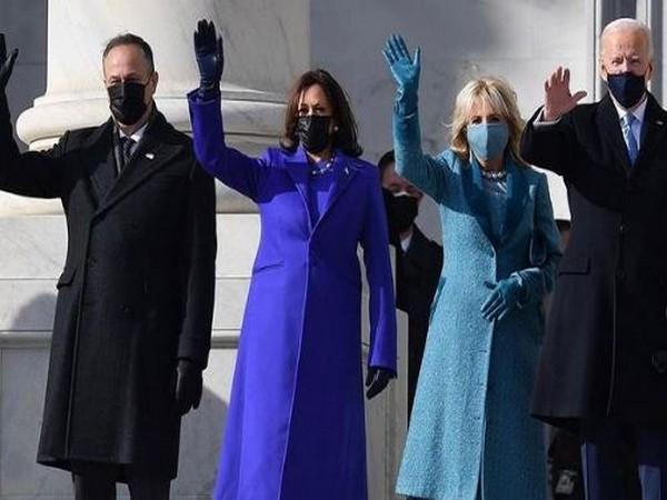 President Biden's inaugural ceremony (Image Source: Instagram)