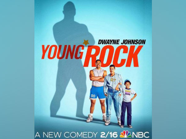 Poster of 'Young Rock' (Image Source: Instagram)