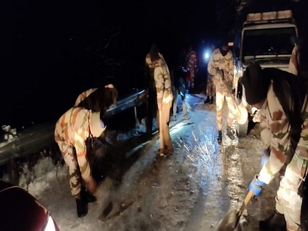 ITBP rescue operation underway. Photo/ANI