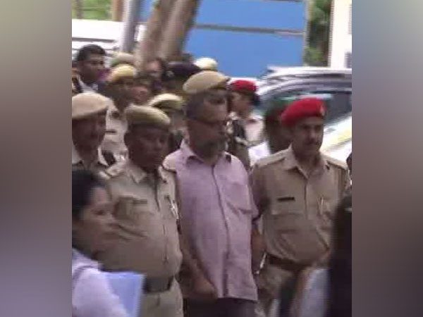 ULFA leader Pranamoy Rajguru and TV actress Jahnabi Saikia sent to 10 days police custody by the court of CJM here on Friday. Photo/ANI