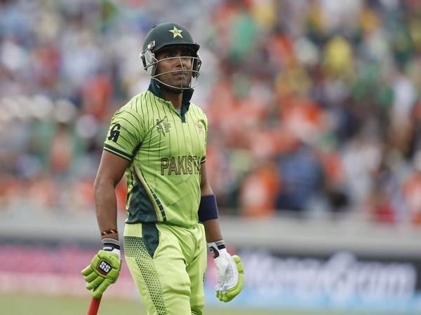 Pakistani cricketer Umar Akmal