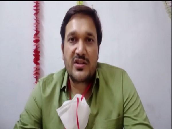 Dr Umesh Patel, Spokesperson for Bundelkhand Medical College (BMC) in Madhya Pradesh's Sagar. (Photo/ ANI)