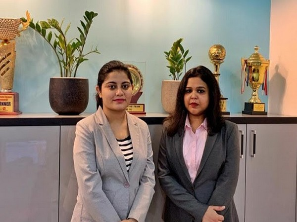 Left to Right: Mehak Malik (Co-founder) and Ritika Agrawal (Marketing & Media Head)