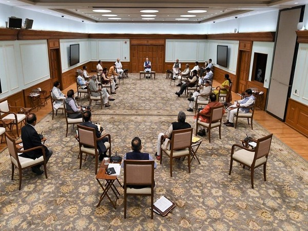 A view of Union Cabinet meeting in New Delhi on Wednesday. Phota/ANI