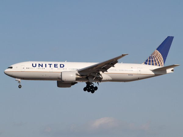 A United Airlines flight. (Representative image)