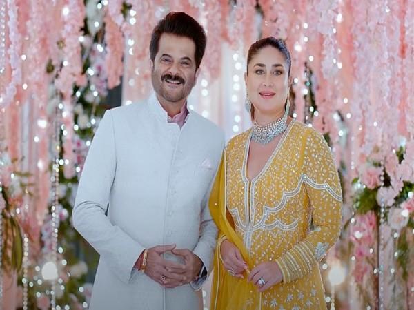 Brand Ambassadors of Malabar Gold & Diamonds - Anil Kapoor and Kareena Kapoor