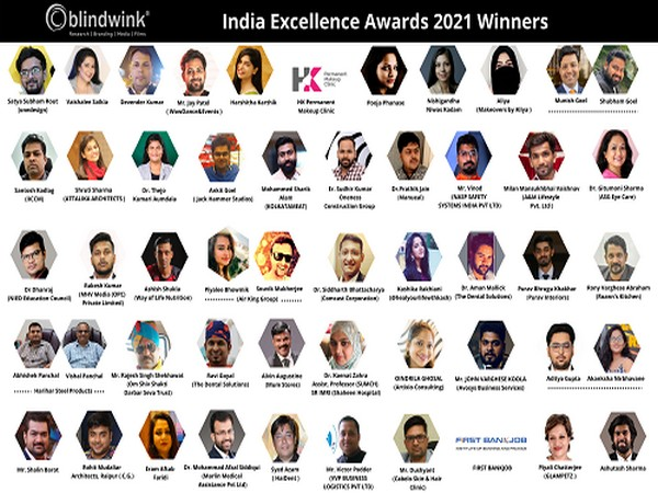 India Excellence Awards - 2021 Winners