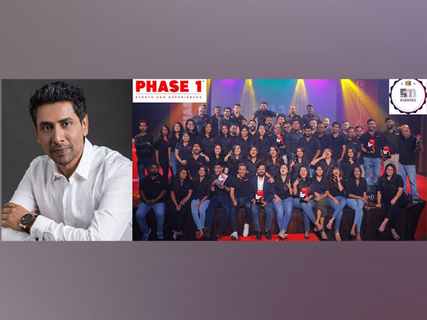 Phase 1 Events & Experiences ranks No. 4 in the World amongst Top Event Organizers and Agencies at Eventex 500