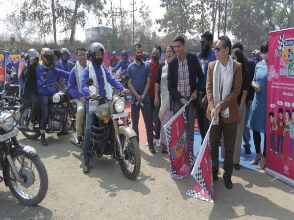 #DurexBirdsAndBeesTalk bike rally has been flagged off in Imphal, Manipur with the Royal Motors Group riders to travel 110 Kms