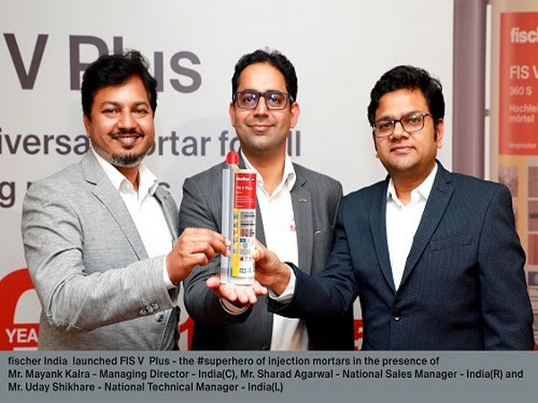 fischer India launched FIS V Plus