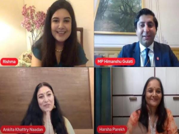 Ek Mulakat Visesh virtual session with young Norwegian politician Himanshu Gulati