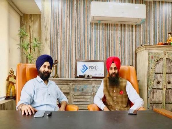 Jasdeep Singh and Gurjot Singh, Founders Pixilar Studios