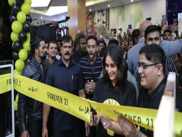 Kareena Kapoor Khan launching the all new Forever 21 at Orion Mall, Bengaluru