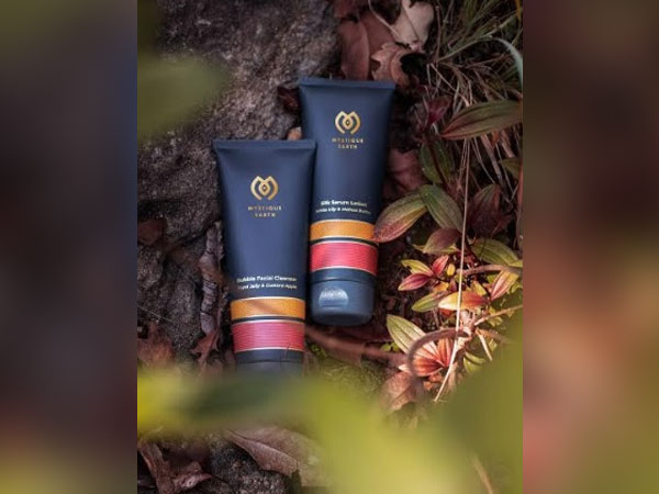 Mystique Earth Facial Cleanser and Body Lotion