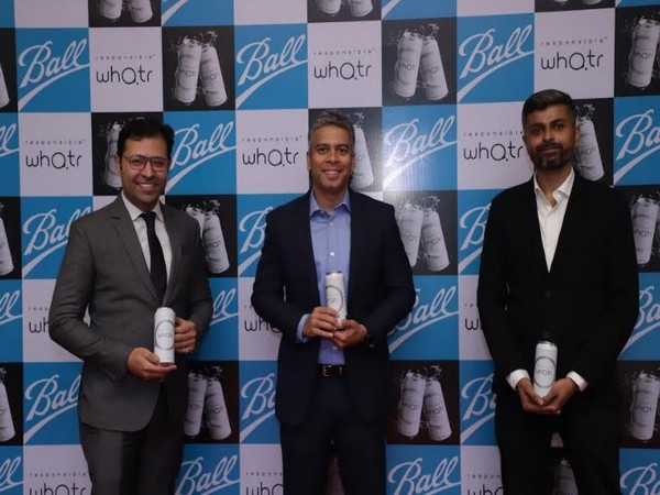 L to R: Ankur Chawla, Co-founder at Responsible Whatr, Amit Lahoti, Managing Director of Ball Beverage Packaging in India, Bhrigu Seth, Co-founder, Responsible Whatr