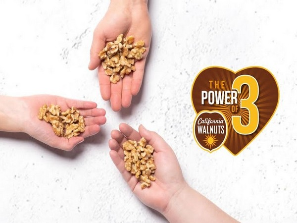 Power of 3 with three handfuls of walnuts