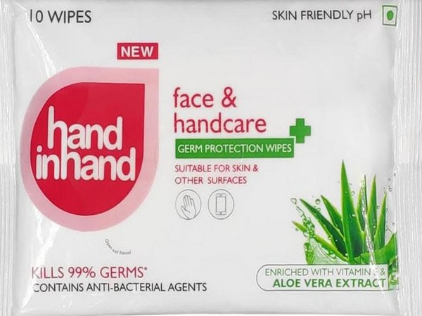 Hand in Hand Germ Protection Wipes