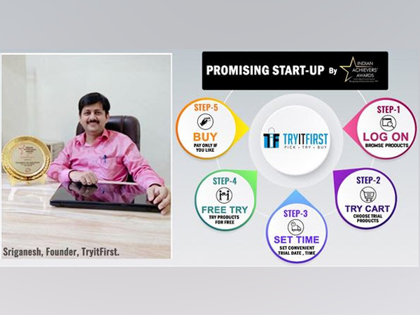 SriGanesh, Founder, TryitFirst, and TryitFirst Doorstep Product Trial Mechanism