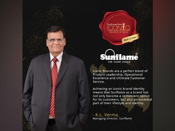 KL Verma, Managing Director, Sunflame