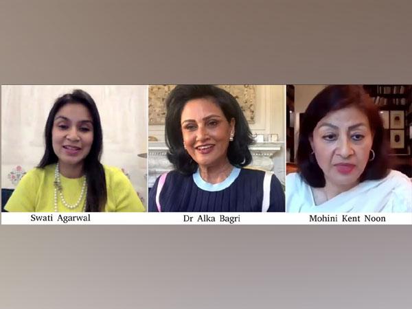 Tete-a-tea - Swati Agarwal, Dr Alka Bagri, Lady Mohini Kent Noon