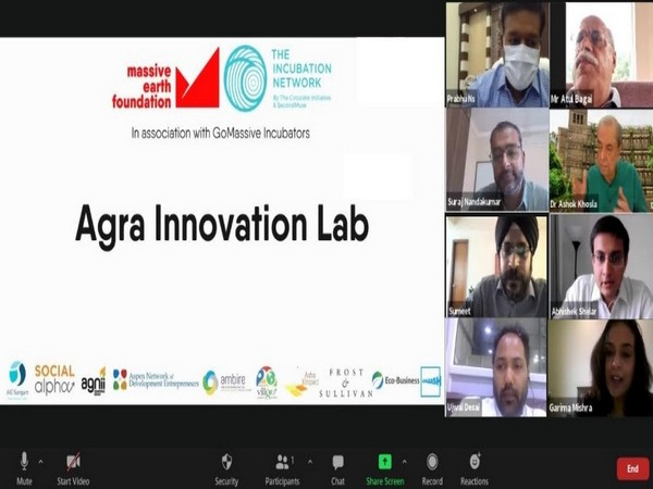 A glimpse of the Final Round Table Event of the Agra Innovation Lab with UNEP, Agra City Administration and Agra Nagar Nigam