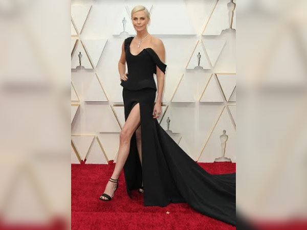 Charlize Theron in Platinum by Tiffany & Co