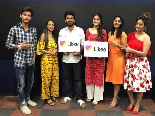 Likee influencers with movie star cast