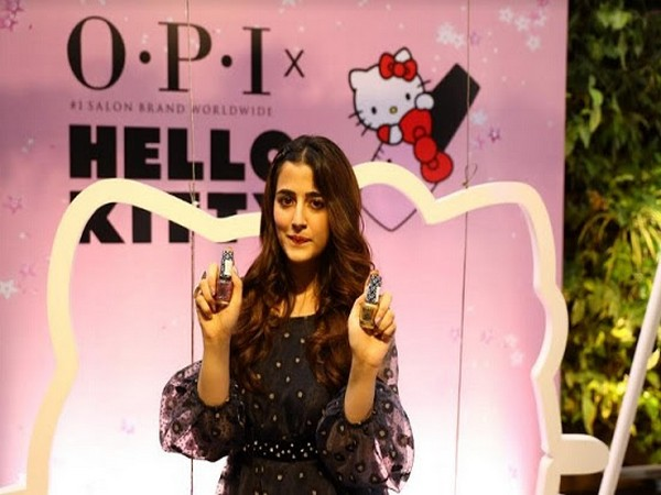 Nupur Sanon at the OPI X Hello Kitty collection launch