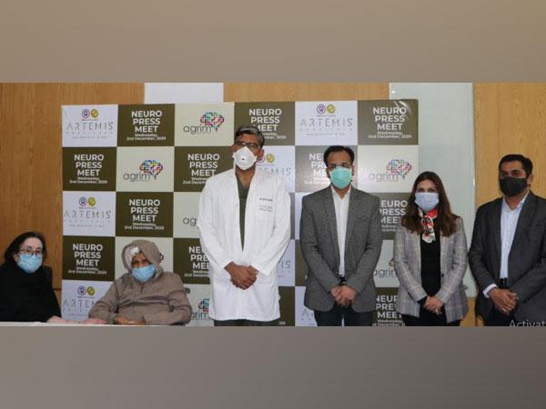 Gurugram doctors perform successful brain surgery on 80 years old