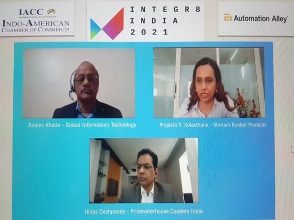 A global virtual conference and exhibition 'Integr8 India 2021' organised by IACC Pune in collaboration with Automation Alley, USA
