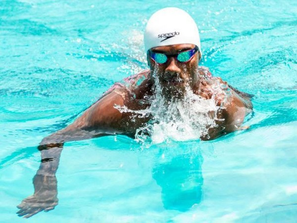 Indian Para swimmer
